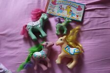2 + 2  my little pony MIO MINI PONY VINTAGE anni 80-90 CAVALLINI BAMBOLE
