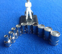"""Blue Point 1/4"""" Drive Metric Shallow Socket set 4mm - 13mm NEW sold by Snap On"""