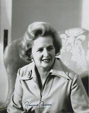 Margaret Thatcher  Autograph, Original Hand Signed Photo