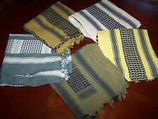 Shemagh Military Army Tactical Keffiyeh Arab Scarf Hat Cotton Wrap Desert w P38