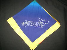 2007 World Jamboree Participants yellow border Neckerchief         j13