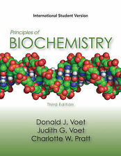 Principles of Biochemistry: Life at the Molecular Level by Judith G. Voet, Charl