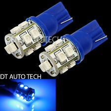 20X Blue T10 921 License Plate Interior SMD Lights Bulbs 10-LED
