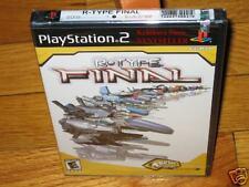 Original Black Label R-Type Final PS2 NEW w. Holo Seal