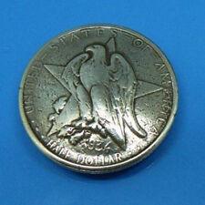 Johnleather Texas Centennial Eagle Star Half-Dollar Coin Conchos 606314S-P30