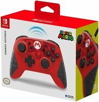Super Mario Hori Wireless Pro Controller Nintendo Switch Horipad Same Day P&P