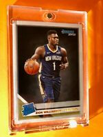 Zion Williamson DONRUSS PANINI RATED ROOKIE 2019-20 HOT RC #201 - Mint Condition
