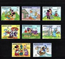 SIERRA LEONE - 1986 - DISNEY - MICKEY - DONALD - MOTHER GOOSE - 8 X MINT SET!