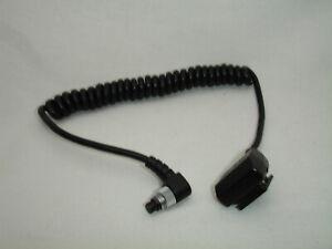 Original Minolta Flash Sync Coiled Cord (older version)