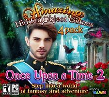 Once Upon A Time 2 PC Games Windows 10 8 7 XP Computer hidden object game 4 Pack