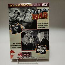 The Heroes of War DOUBLE FEATURE and a Cartoon on DVD, BRAND NEW