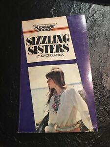 Vintage Adult Paperback Sleaze Novel Book Sizzling Sisters
