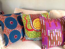 """Ankara Throw-pillow cases, set of two. 20""""x20"""". 100% cotton."""
