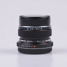 BRAND NEW OLYMPUS M. ZUIKO DIGITAL ED 12MM F/2.0 LENS BLACK