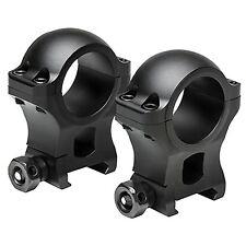"NcSTAR VISM Hunter Series 30mm Aluminum Rail Mounted Scope Rings 1.3""H Black"