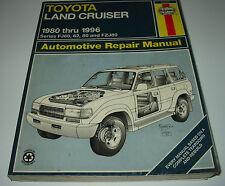 Reparaturanleitung Toyota Land Cruiser FJ60 FJ62 FZJ80 Repair Manual 1980 - 1996