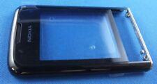 Original Nokia 8800 arte Black A-Cover Rahmen Gehäuse Lens mit Display Glas NEU