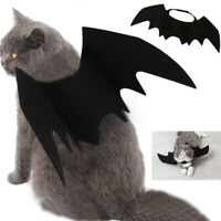 Halloween Pet Cat Costume Bat Wings Costumes Pet Apparel for Small Dogs and Cats
