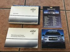 2006 CHEVY CHEVROLET UPLANDER OWNERS MANUAL BOOK SET Cd Is Missing ( OEM )