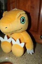"AGUMON Digimon plush Banpresto Plush toy doll stuffed animal 13"" New with Tags"