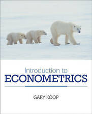 Introduction to Econometrics by Gary Koop (Paperback, 2007)
