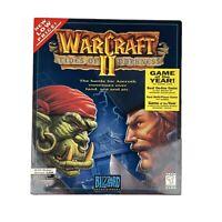 WarCraft II Tides of Darkness New Sealed MS-DOS, Windows, Mac 1996