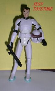 STAR WARS THE CLONE WARS Clone Trooper DROIDBAIT CT-327 Loose
