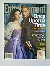 Entertainment Weekly Magazine with ONCE UPON A TIME Cover - Good Condition