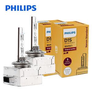 2pcs Genuine! PHILIPS D1S OEM 4300K HID Xenon Headlight Bulb 85415 35W Germany