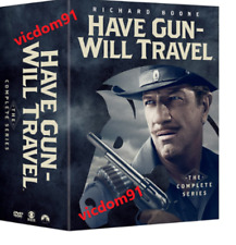 HAVE GUN WILL TRAVEL: THE COMPLETE SERIES ( 35 DVD Box Set ) NEW & SEALED