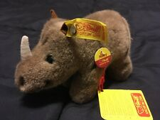 "Steiff Rhino Button in Ear ""Nosy"""