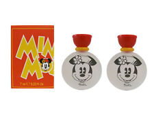 MINNIE MOUSE 2 x 7 ml Eau de Toilette Miniature for Girls (New In Box) By Disney
