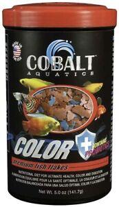 5oz Cobalt Premium Color Flakes, FREE 12-Type Pellet Mix Included