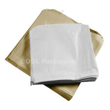 More details for brown kraft / white sulphite strung paper sweet grocery fruit sandwich food bags