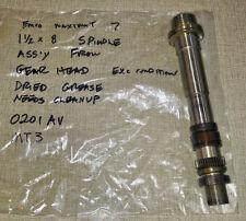 "Emco Maximat 7 Lathe Gear Head 1-1/2"" x 8 MT3 Spindle Shaft NO SPLINES 0201AV"