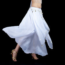 New Belly Dance Costume Skirt with Golden Coins Skirt/Dress 13 Colors