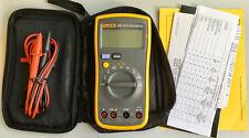 USA Seller Fluke 12E+ F12E+ Handheld Digital Multimeter Current Auto Range Meter