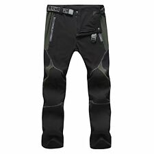 Lightweight Breathable Dry Hiking Mountain Cargo Pants Trousers Men Women medium