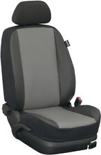 Ford Tourneo Connect hasta 2018 grado fundas para asientos rücksitzbezug: piel sintética/gris/s