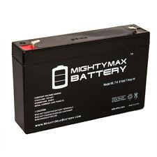 Mighty Max 6V 7Ah SLA Battery for Kid Trax Avigo Quad KT1042TR / KT1051TR