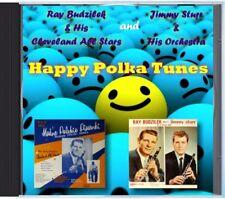 MZ 128 - Ray Budzilek & Jimmy Sturr - Happy Polka Tunes - POLKA CD