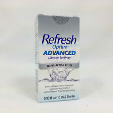 Refresh Optive Advanced Lubricant Eye Drops, 10ml 300234307105T975