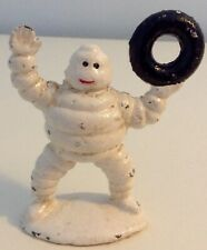 VINTAGE MICHELIN CAST IRON FIGURE - CHEERING - ONE OF (6) SIX OPTIONS - 8CM TALL