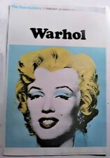 Marilyn Monroe- by Andy Warhol 1971 Tate Gallery, London Exhibition Poster used