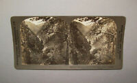 Antique Vtg 1900s Clear Creek Canyon Colorado Stereoview Photo Card Very Nice