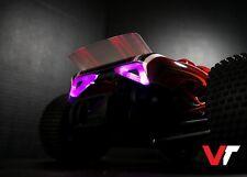 (NEW!) Traxxas Rustler - VT - Sapphire Rear Light Assembly (Purple) (Version 1)
