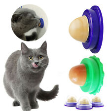 Cats Snack Candy Catnip Licking Solid Nutrition Energy Ball Help Digestion