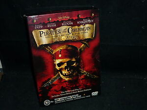 PIRATES OF THE CARIBBEAN THE CURSE OF THE BLACK PEARL + THE LOST DISC (DVD, M)