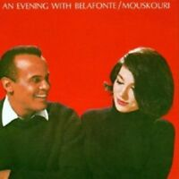 HARRY BELAFONTE & NANA MOUSKOURI - AN EVENING WITH BELAFONTE/MOUSKOURI  CD NEUF
