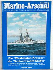 """Siegfried Breyer - MARINE-ARSENAL Band 23 - Die """"Washington Kreuzer"""" Teil II"""